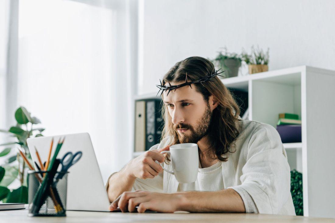 office jesus large